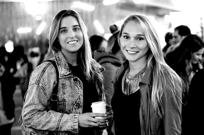 Ana Covarrubias y Constanza Mackenna
