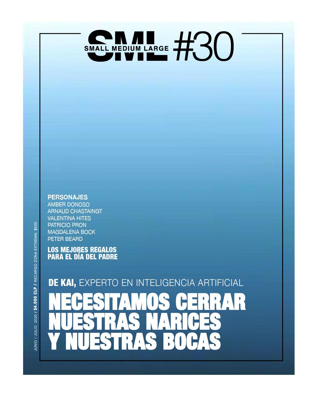 Revista de moda de hombre en Chile