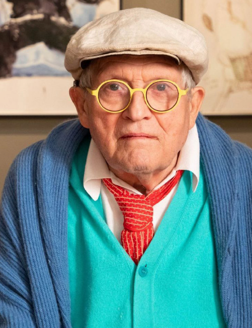 DAVID HOCKNEY, NERD CHIC
